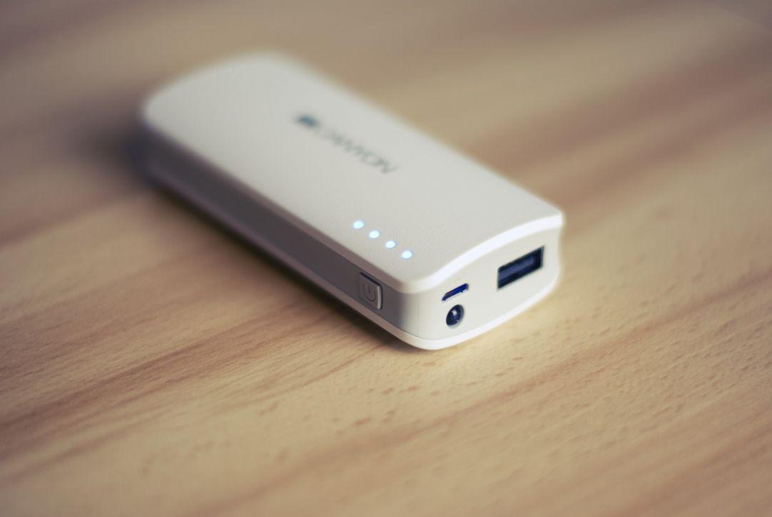 External battery - also called power bank